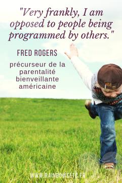 Fred Rogers parentalité bienveillante américaine