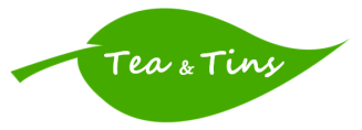 Tea and Tins logo - white - cropped